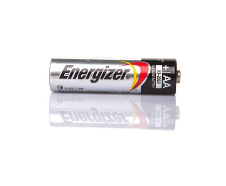 KUALA LUMPUR, MALAYSIA - FEBRUARY 27TH 2015. Used Energizer AA batteries. Energizer Holdings is an American manufacturer of batteries and are sold in over 165 countries worldwide.