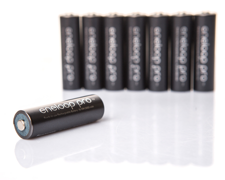 nimh: isolated, popular, rechargeable, expensive, discharge, white, nickel, power, aa, illustrative, electricity, supply, black, editorial, technology, positive, negative, equipment, pro, energy, electrical, brand, cadmium, battery, volt, current, electronic, c Editorial