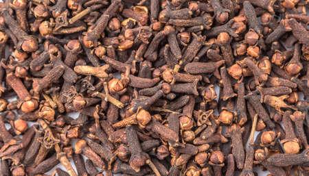 clove: Clove spices close up view