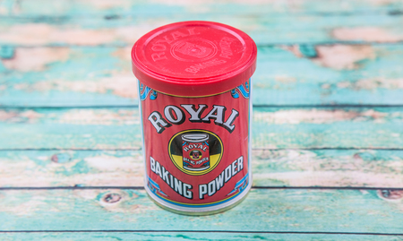 conglomerate: PUTRAJAYA, MALAYSIA - 22ND JULY, 2015. Royal Baking Powder is a product brand produce by Mondelez international Inc, an American multinational confectionery, food and beverage conglomerate.