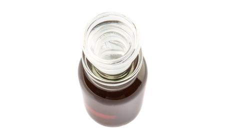 Maple vinegar in glass vial