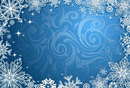 multilayer: Ilustraci�n de Navidad. Perfecto para las tarjetas de regalo Vectores