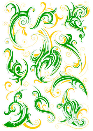 Decorative ornament Illustration