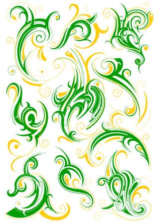 Decorative ornament Illustration