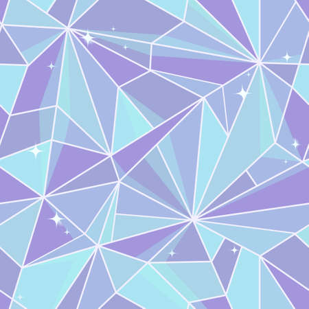 Seamless abstraction with blue toned crystal surface Stock Vector - 19579930