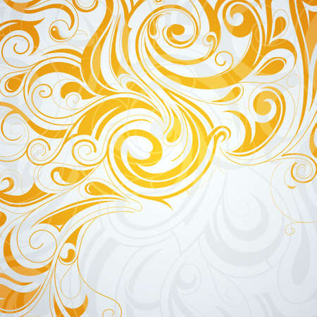 Abstract background with tribal art elements Vector