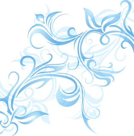 frosted: Vector illustration for window frost ornament.