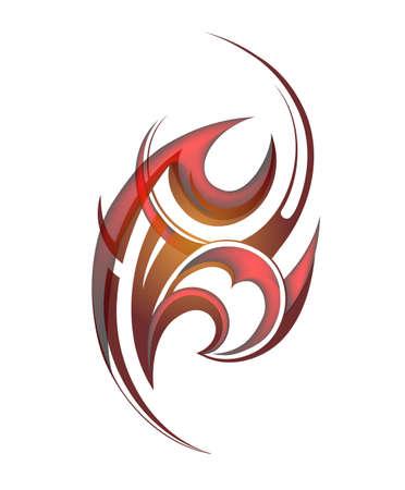 maories: Dise�o tribal del tatuaje maor� origen �tnico. EPS-10