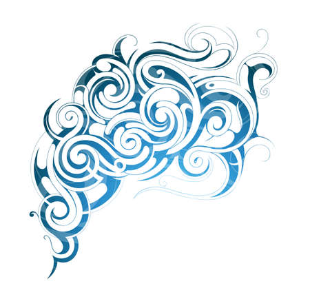 fumo blu: Spruzzata ancora fumo blu