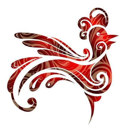 gallo: Gallo como símbolo para el año chino del zodiaco 2017