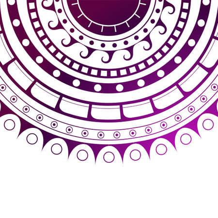 Conception de tatouage maori. Banque d'images - 71561093