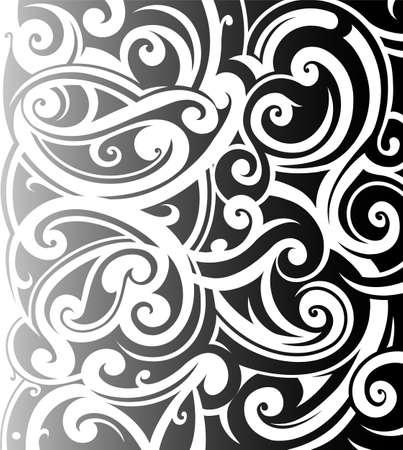 マオリはスタイル飾りです。スリーブのタトゥーの良い