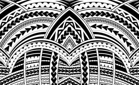 Samoa style ornament. Good for sleeve tattoo