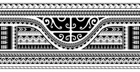 Maori style ethnic ornament, good for sleeve tattoo
