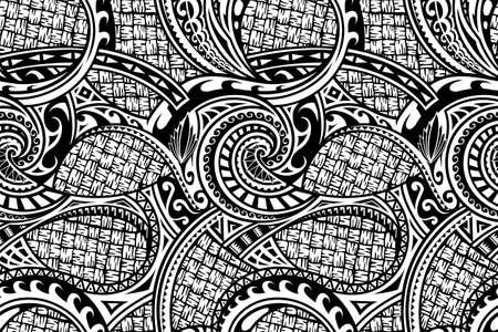 Seamless ethnic pattern Illusztráció