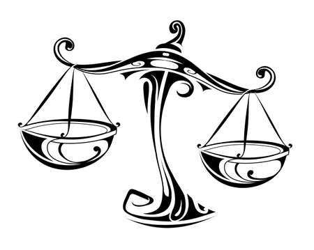 Signo del horóscopo libra