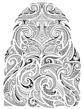 Tribal art sleeve design Vectores