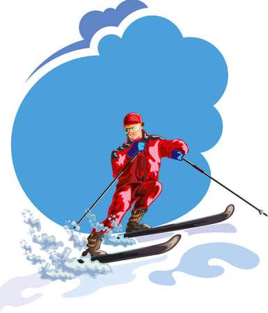 Winter Sports - Illustration