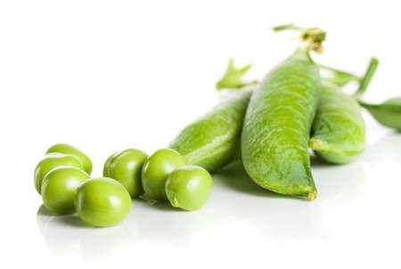 pea pod: green pea pod, green peas