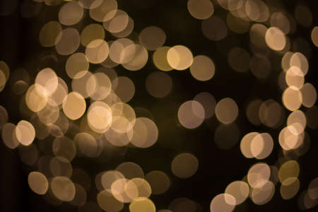 abstract background with yellow bokeh lights, Stoke-on photo.