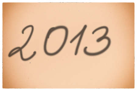 201 new year orange background Stock Photo - 17874985