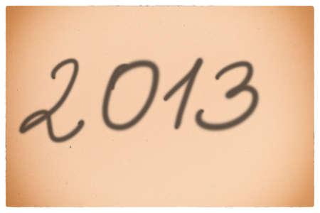 201 new year orange background Stock Photo - 17874985