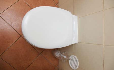 toilet bowl, home flush toilet Stock Photo - 18567861