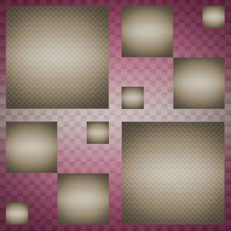 Design template abstract squares pink brown background photo
