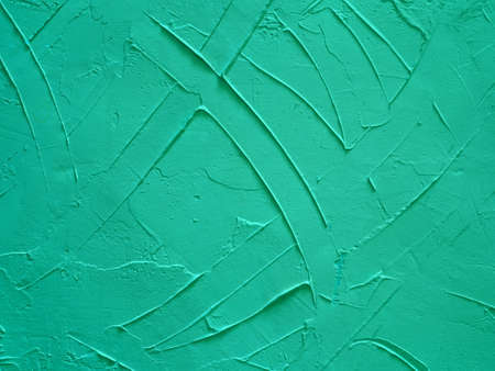 Grain green paint concrete wall grunge background or texture Stock Photo - 19548115