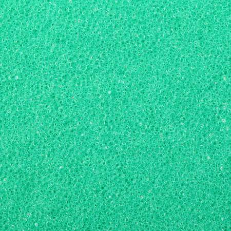 celulosa: Textura verde de celulosa esponja de espuma - fondo. Formato cuadrado