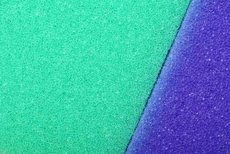 celulosa: Violeta textura de celulosa esponja espuma fondo verde