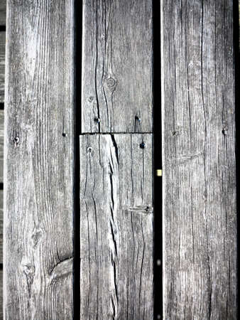 grungy gray background of natural wood plank or wooden old texture photo