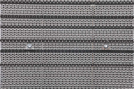 Gray metal pattern texture or industrial background Stock Photo - 22441896