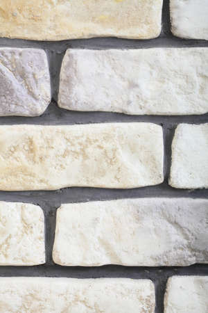affix: Renovation at home wall clinker tile brick texture Stock Photo