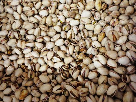shelled: Many shelled pistachios