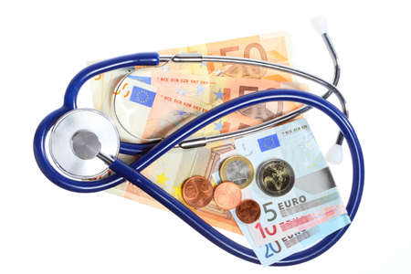 medical treatment and high cost for a good health care service concept Stock Photo