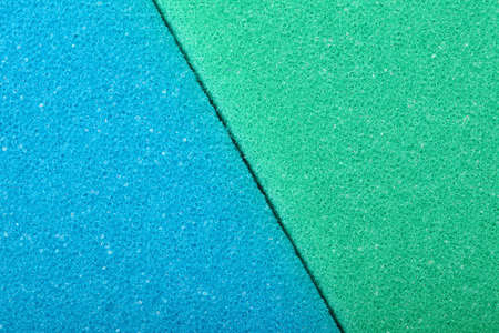 Blue green texture cellulose foam sponge background Stock Photo - 23762167
