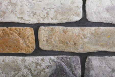 clinker: Ristrutturazione di casa muro di mattoni clinker piastrelle come texture di sfondo