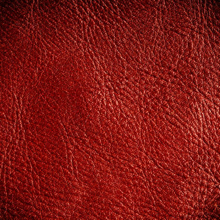 Red leather texture closeup grunge background  Country western background, cowboy rawhide design, abstract pattern  Square format photo