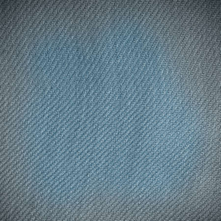 Closeup macro of gray fabric textile material as texture pattern background or backdrop  Square format photo
