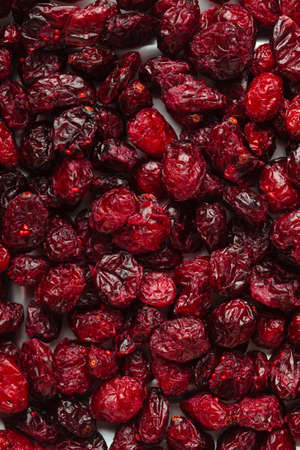 cranberry fruit: Healthy food organic nutrition  Dried cranberries cranberry fruit as background