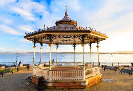 bandstand: Kennedy Park with Victorian bandstand   Stock Photo