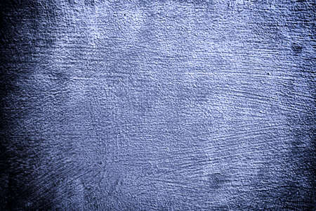 stell: Closeup of grunge deep blue metal plate as background or texture