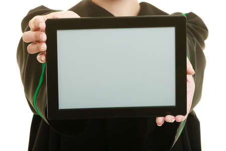 advocate: Defensor polaco con la tableta
