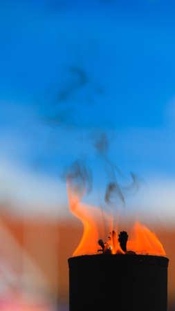 vigil: Movement of fire flame vigil  light outdoor