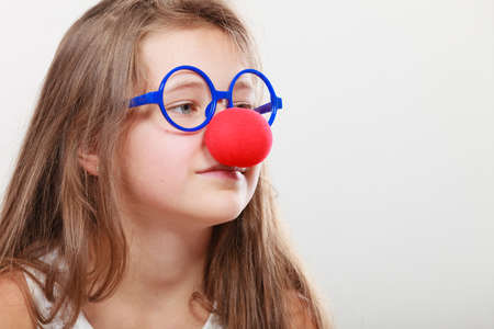 disguise: Funny disguise for little girl. Prepare to have fun