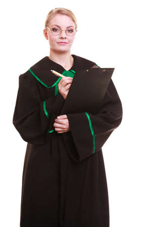 Lawyer\'s Gown Stock Photos. Royalty Free Lawyer\'s Gown Images