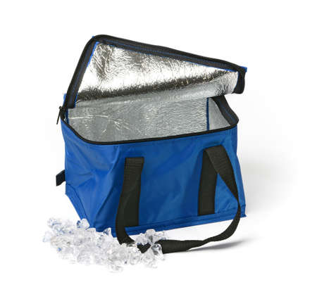 thermal bag on the white background - closeup Standard-Bild