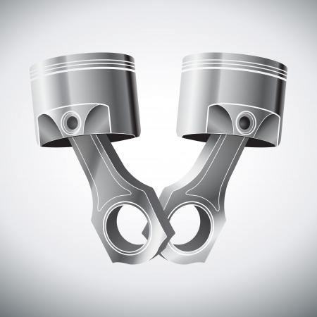 engine pistons: engine metall pistons