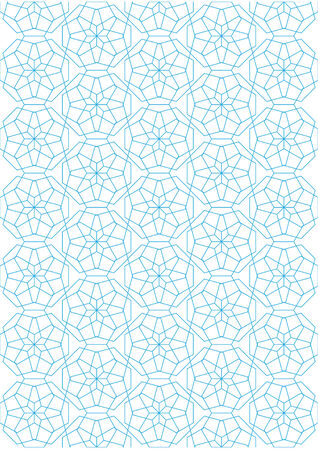 Repeating geometric lines on white background pattern Stock Vector - 24521540